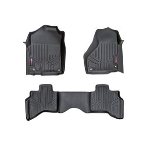 HEAVY DUTY FLOOR MATS FRONT / REAR 02-08 DODGE RAM 1500 QUAD CAB