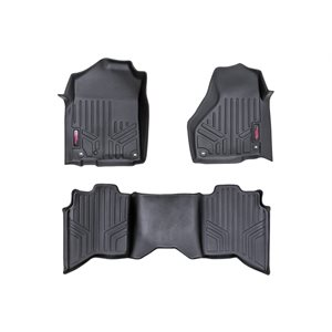 HEAVY DUTY FLOOR MATS [FRONT / REAR] - (09-15 DODGE RAM 1500)