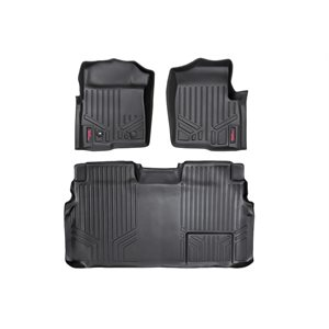 HEAVY DUTY FLOOR MATS [FRONT / REAR] 09-10 FORD F-150 SUPERCREW C