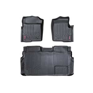 HEAVY DUTY FLOOR MATS [FRONT / REAR] 11-14 FORD F-150 SUPERCREW C