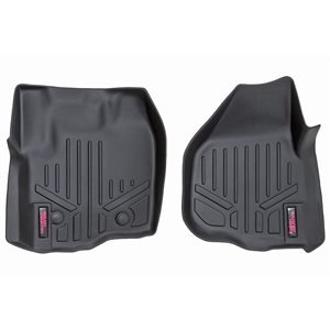 HEAVY DUTY FLOOR MATS [FR] 12-16 FORD SUPER DUTY | RAISED PEDAL