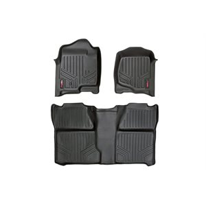 HEAVY DUTY FLOOR MATS [FRONT / REAR] - (07-13 CHEVROLET TAHOE)