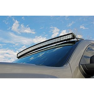 "MOUNT WINDSHIELD 50""  CURVED GM PICKUP"