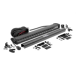 20-INCH CREE LED LIGHT BAR - (SINGLE ROW | BLACK SERIES)