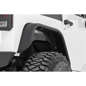 JEEP JK 07-17 TUBULAR REAR FENDER FLARES