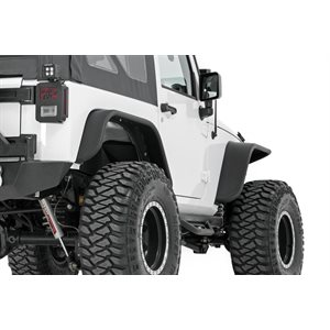 JEEP TUBULAR FRONT & REAR FENDER FLARES SET (07-16 WRANGLER JK)