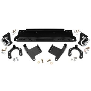 JEEP JK 07-17 WINCH MOUNTING PLATE W / D-RINGS