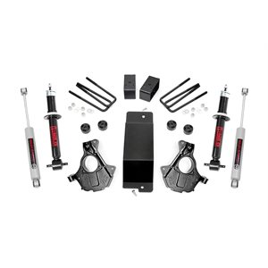 3.5in GM Suspension Lift | Knuckle Kit w /  Struts (14-18 1500 PU