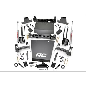 7-inch Suspension Lift Kit (Factory Stamped Steel Control Arm M