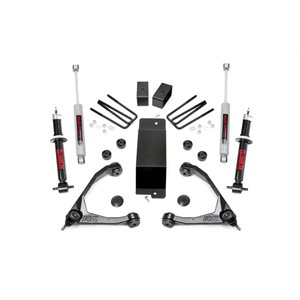 "GM 1500 14-16 3.5"" LIFT KIT W /  STRUTS & STEEL CONT ARMS"
