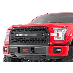 FORD MESH GRILLE W / 30IN DUAL ROW BLACK SERIES LED (15-17 F-150)