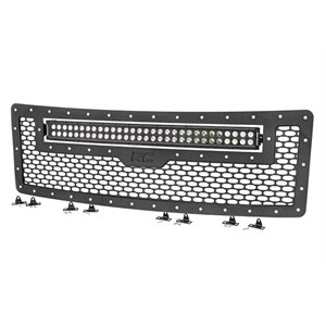 FORD MESH GRILLE W / 30IN DUAL ROW BLACK SERIES LED (09-14 F-150)