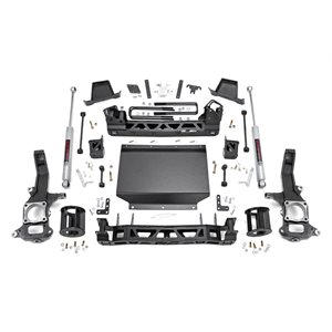 6IN NISSAN SUSPENSION LIFT KIT (16-18 TITAN XD 4WD)