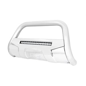 GM BULL BAR W / LED LIGHT BAR | STAINLESS STEEL (07-18 1500)